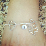Jewels of Maui Personalized Autism Awareness Bracelet